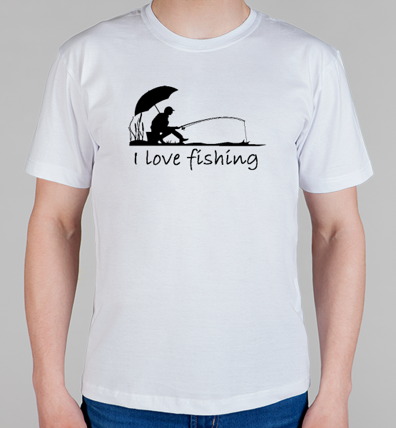 "Майка ""I love fishing"""