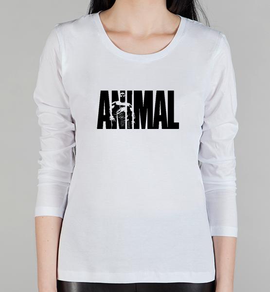 """Женский лонгслив """"Animal"""""""