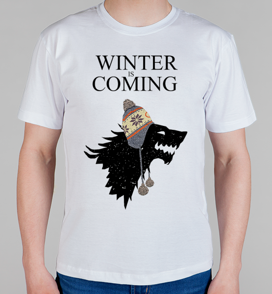 "Майка ""Winter is coming (Games of thrones)"""
