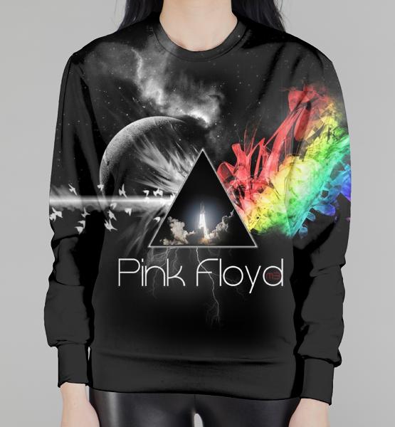 """Женский 3D свитшот """"Pink Floyd"""""""