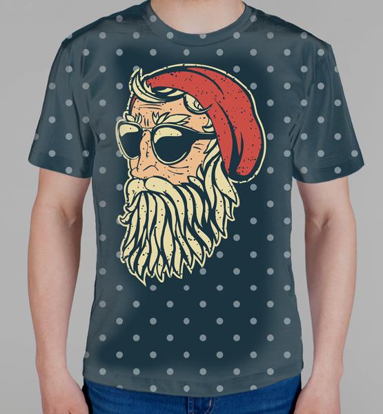 Новогодние 3D футболки