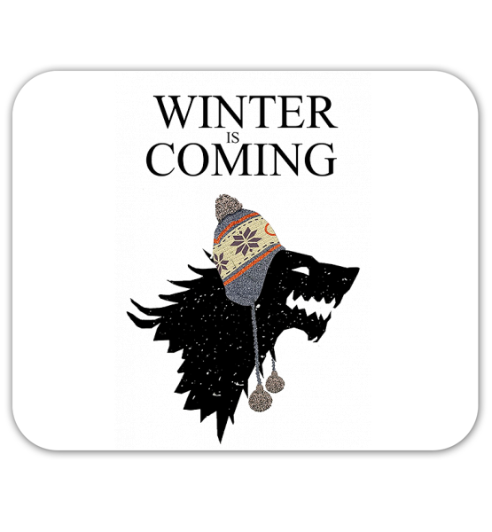 "Коврик для мышки ""Winter is coming (Games of thrones)"""